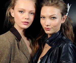 model, Karlie Kloss, and frida gustavsson image