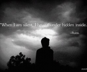 quotes, thunder, and silent image