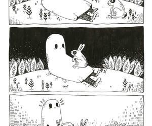 art, illustration, and sad ghost club image