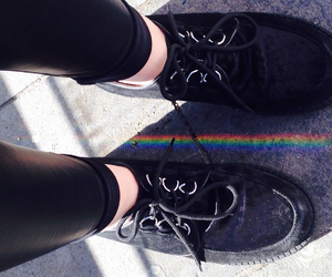 arcobaleno, colors, and grunge image