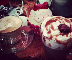 capuccino, chocolate, and fairytale image