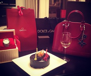 bag, luxury, and red image