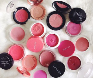 glamour, pink, and revlon image