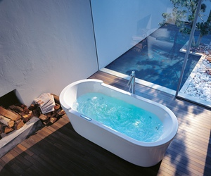 bathtub, legs, and cosy image