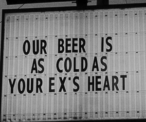 beer, heart, and quote image