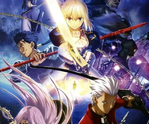 anime, servant, and fate stay night image
