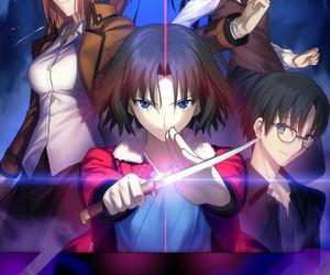 anime, kyoukai no kanata, and horror image