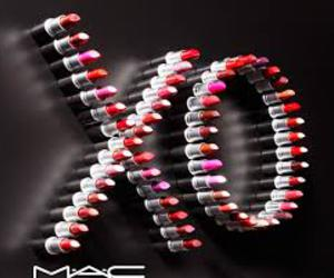 mac, lipstick, and xo image