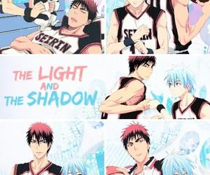 anime and kuroko no basket image