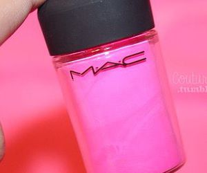 pink, mac, and beauty image