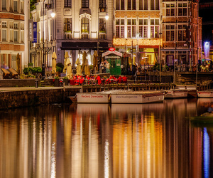 city, belgium, and Ghent image