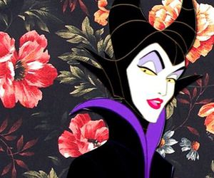 disney, wallpaper, and maleficent image