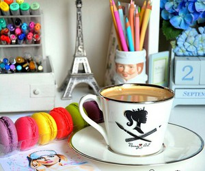 coffee, decor, and morning image