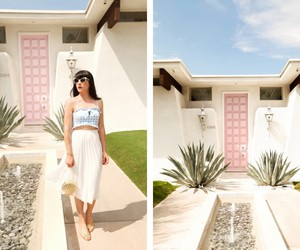 door, palm springs, and house image