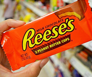 chocolate, reese's, and food image