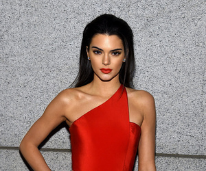 kendall jenner, style, and red image