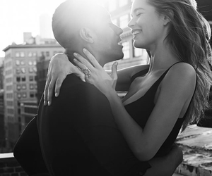 love, couple, and model image