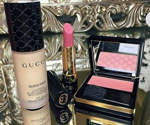 gucci, makeup, and lipstick image