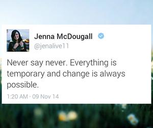 tonight alive, jenna mcdougall, and tweets fav image