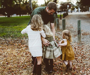 family, kids, and girl image