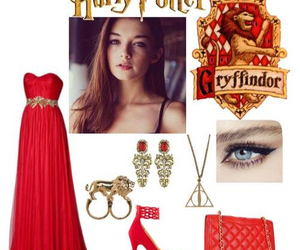 harry potter, fashion, and outfit image