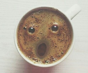 coffee, face, and coffe image