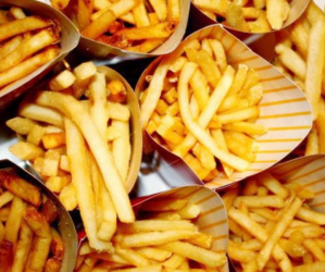 food, eat, and fries image