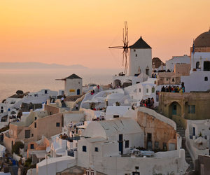 beautiful, Greece, and Houses image