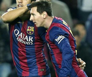 messi and suarez image
