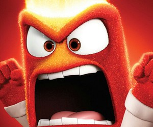 anger, inside out, and disney image