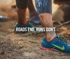 nike, run, and fitness image