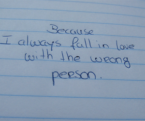 person, wrong, and love image