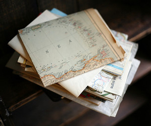 map, photography, and vintage image