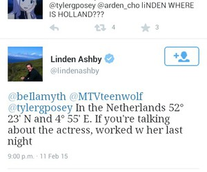 teen wolf, holland roden, and linden ashby image