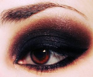 make up, eye, and makeup image