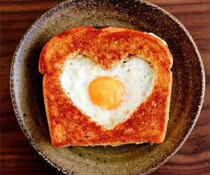 toast, food, and heart image