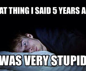 funny, sleep, and stupid image