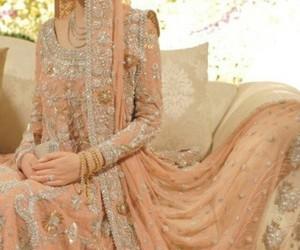 pakistani, beautiful, and bride image