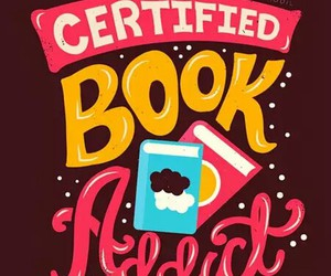 book, addict, and certified image