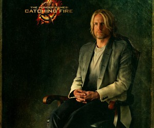 haymitch, catching fire, and hunger games image