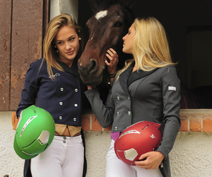 apparel, equestrian, and horse image