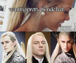 funny, blonde, and hair image