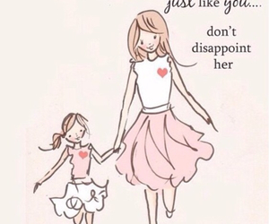 daughter, quotes, and mother image