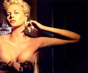 Charlize Theron and dior image