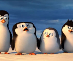 <3, movie, and penguins of madagascar image