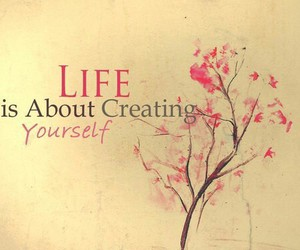 create, simple, and life image
