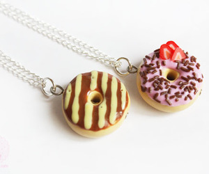 caramel, diy, and donut image