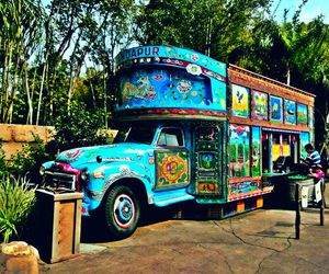 boho, camion, and hippie image