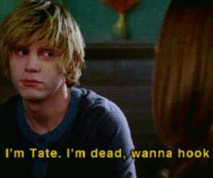 tate, american horror story, and ahs image