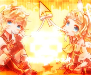 anime, vocaloid, and rin image
